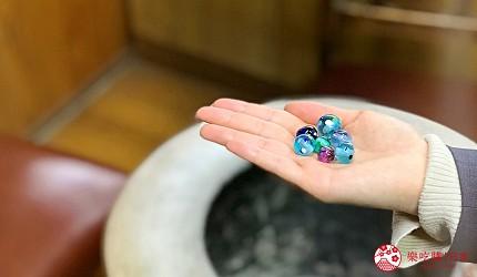關西自由行必去推薦推介大阪難波和泉市玻璃珠DIY成果實拍