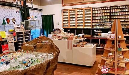 關西自由行必去推薦推介大阪難波和泉市玻璃珠DIY教室旁的展售區