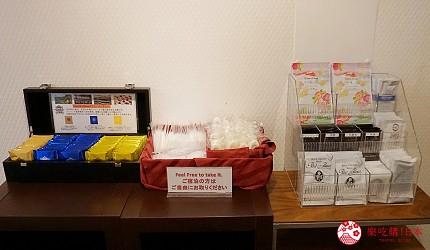 大阪住宿推荐:阪急梅田站走路5分钟「梅田比纳里奥饭店」-女性楼层备品