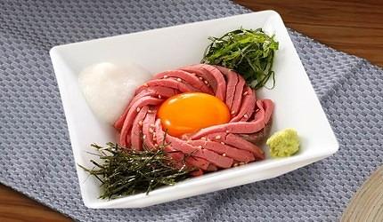 大阪關西機場燒肉吃到飽あぶりやaburiya姊妹店ワンカルビ臨空城店涼拌烤牛肉