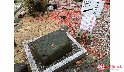 關西自由行必去推薦推介大阪難波和泉市保佑生意興隆良緣成就的信太森神社內的子安石