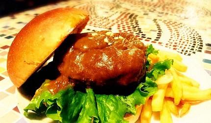 京都美食推薦阪急東向日站激辛超辣美食air1963辣味炸彈漢堡