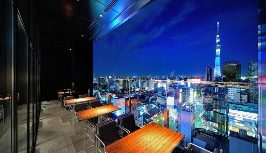 THE GATE HOTEL 雷门 by HULIC-天空树夜景