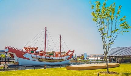 奈良必看世界遺產平城宮跡遣唐使船