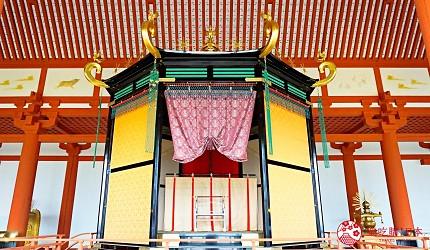 奈良必看世界遺產平城宮跡高御座