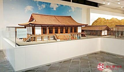 奈良必看世界遺產平城宮跡遺構展示館