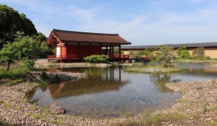 奈良必看世界遺產平城宮跡東院庭園