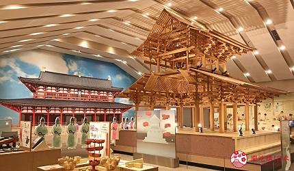 奈良必看世界遺產平城宮跡平城宮跡諮詢館
