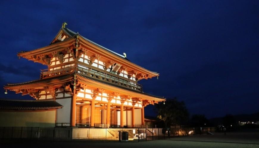 奈良必看世界遺產平城宮跡朱雀門