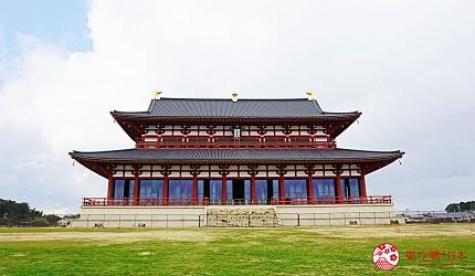奈良必看世界遺產平城宮跡大極殿