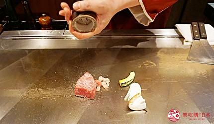 心齋橋「みやざき館」品嚐日本和牛3連霸之「宮崎牛」的鐵板現煎-宮崎和牛料理